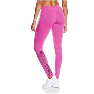 Under Armour Pink Charged Cotton Legging